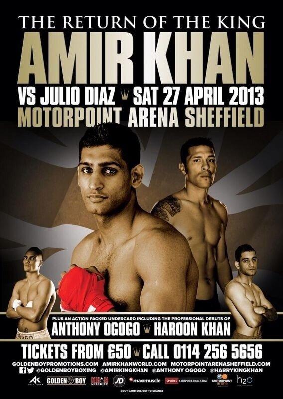 Amir Khan vs Julio Diaz Weigh-in