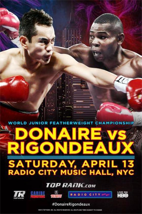 Rigondeaux shocks Donaire in a upset !!!