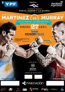 Rough Go For Martinez Over Murray, Retains Middleweight Title in Argentina