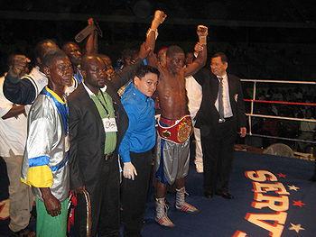 Albert Tornado Mensah Wins IBF Continental Africa Title, More Tagoe