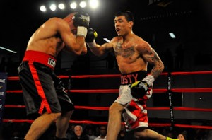 RCM Boxing Prospects: Welterweight Sensation Dusty Hernandez-Harrison Scores Dynamic TKO Win Over Eddie Soto