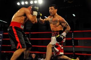 RCM Boxing Prospects: Welterweight Sensation Dusty Hernandez-Harrison Scores Dynamic TKO Win Over Eddie Soto