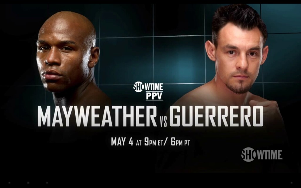 Guerrero looks to shock the world against Mayweather Jr.