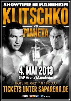 WLADIMIR KLITSCHKO VS. UNDEFEATED FRANCESCO PIANETA