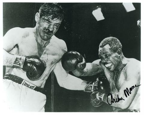 RCM Historical Boxing: Archie Moore's Shining Light Heavyweight Moment