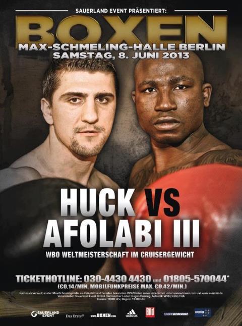 Huck vs Afolabi III Recap: Huck retains WBO Cruiserweight Belt