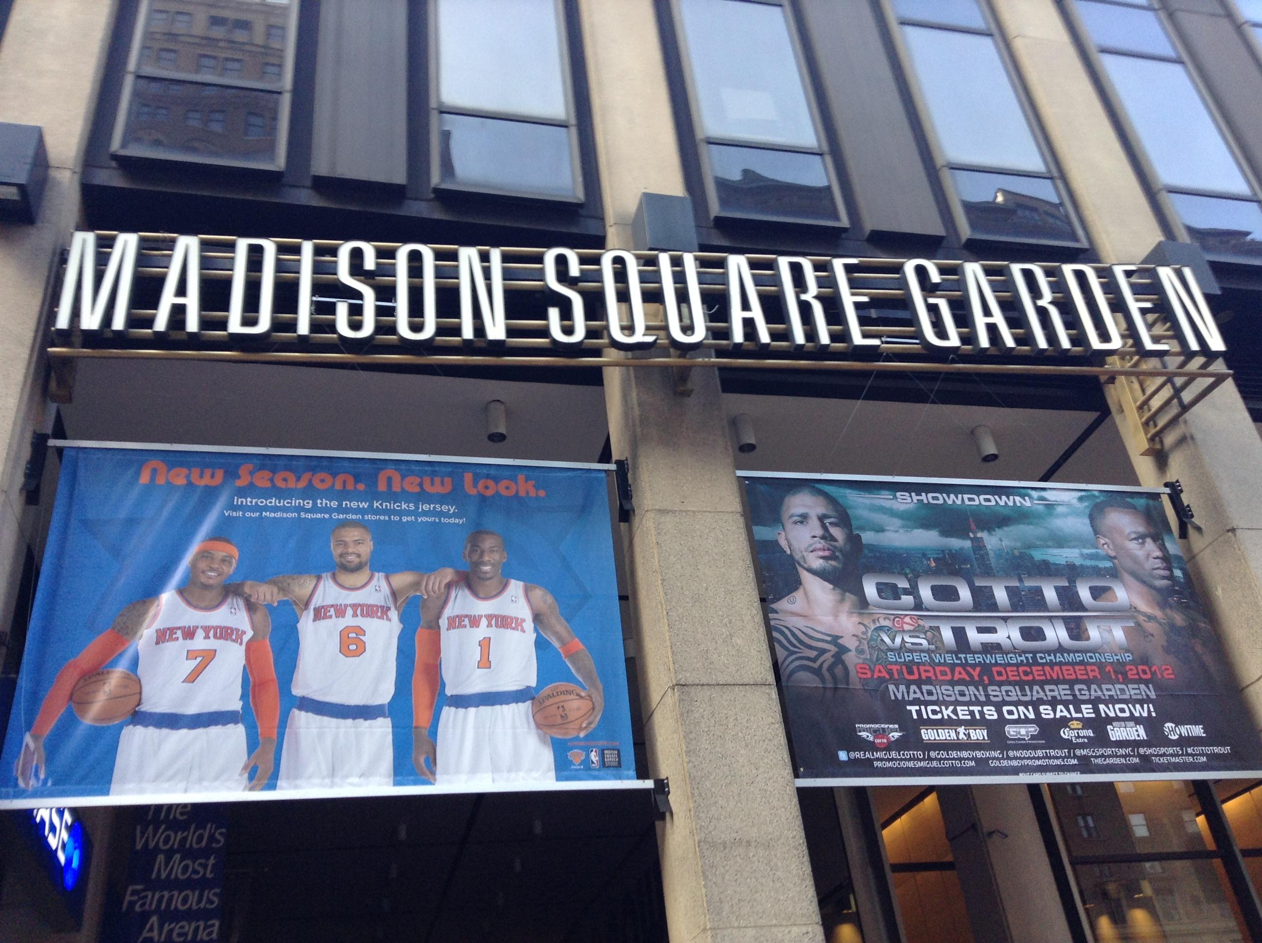 Madison Square Garden Upcoming Boxing 2013 Just B Cause