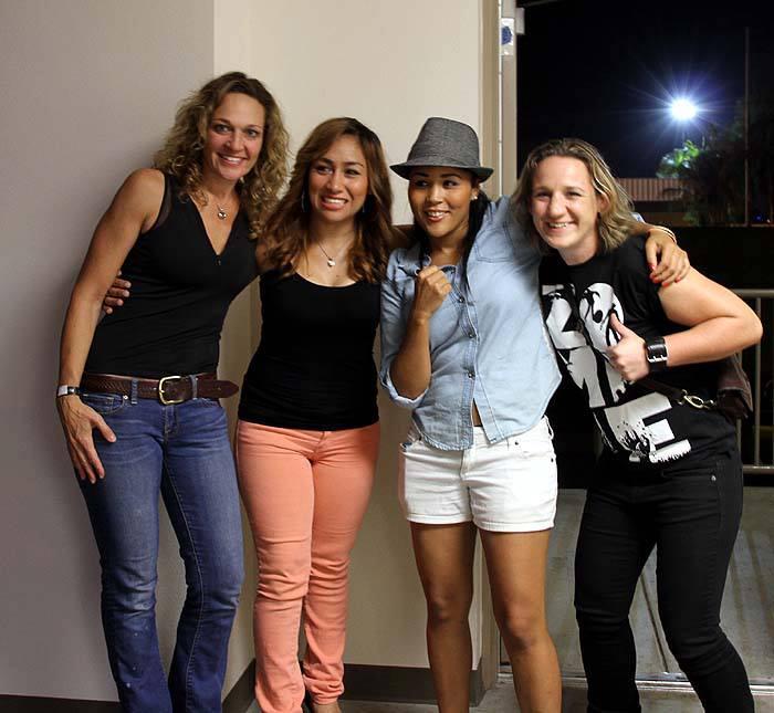 Krysti, Kaliesha, Lisette and Diana