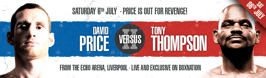 David Price vs. Tony Thompson 2 Results