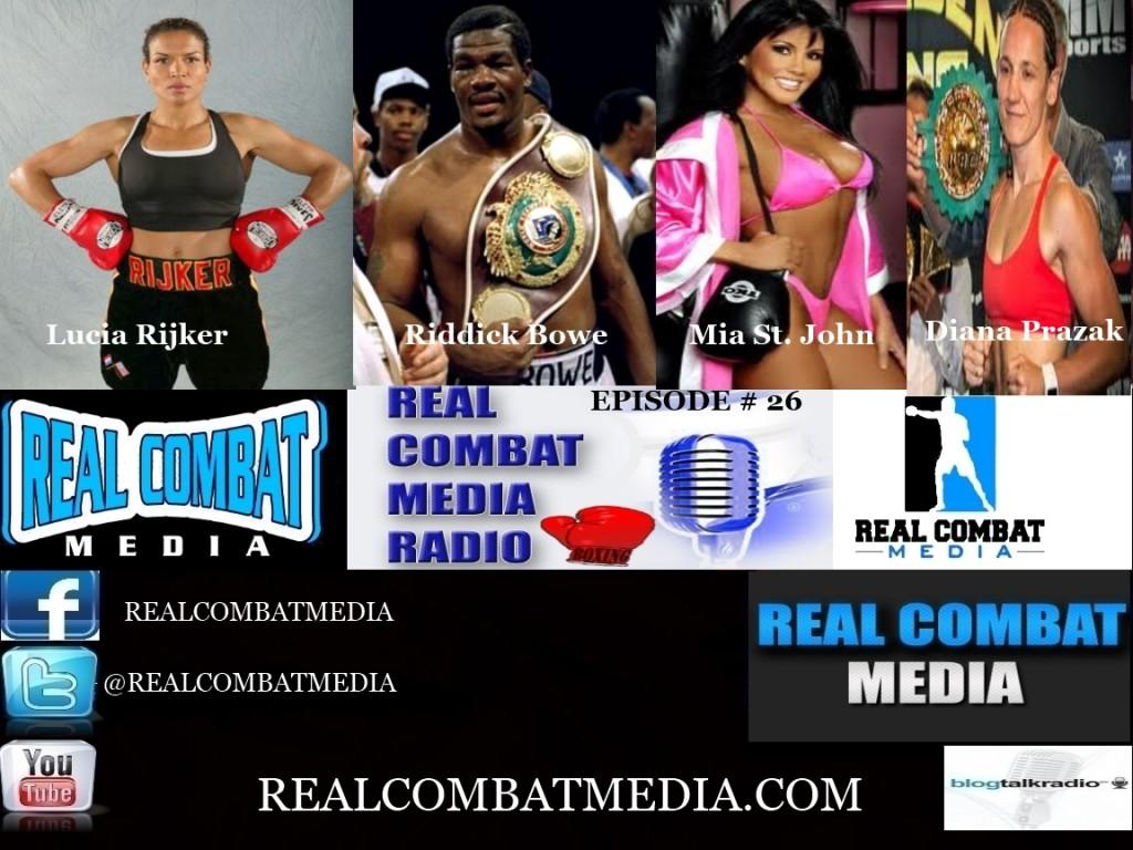 RCM Boxing Radio Episode #26