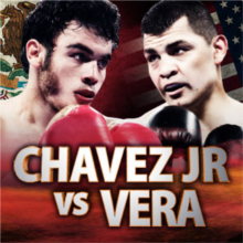 CHAVEZ JR. – VERA RESCHEDULED FOR SATURDAY SEPTEMBER 28TH AT THE STUBHUB CENTER IN CARSON, CALIFORNIA LIVE ON HBO