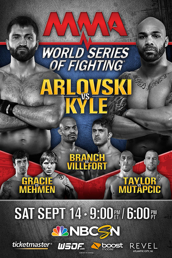 World Series Of Fighting 5 Matchups & Conference Call