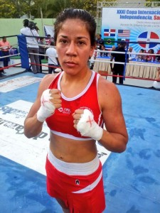 Sulem Urbina - wins gold at 2014 Independence Cup