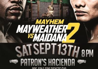 Floyd Maidana II poster