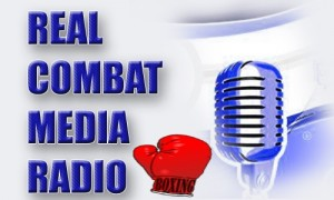 Real Combat Media Boxing Radio Logo