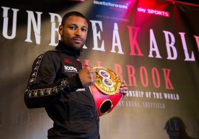 Kell Brook IBF World Welterweight Champion at Press Conference to announces that Jo Jo Dan will be his next opponent when he defends his title at Sheffield's Motorpoint Arena on 28th March 2015.22nd January 2015Picture By Mark Robinson.