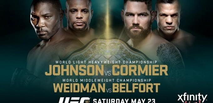 UFC 187 NEW