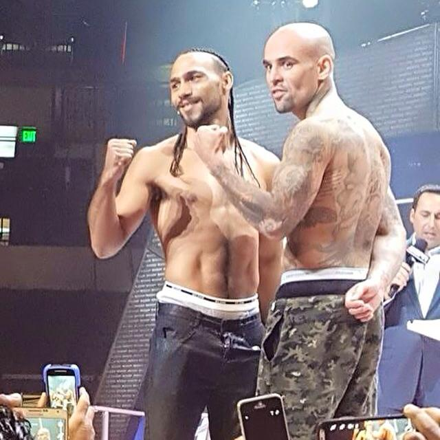THURMAN VS. COLLAZO PBC ON ESPN WEIGH-IN VIDEO