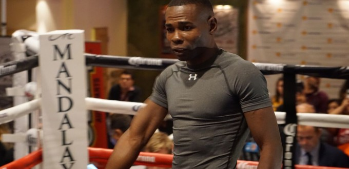 Guillermo Rigondeaux Media Workout Photo By Victor Garcia, Real Combat Media