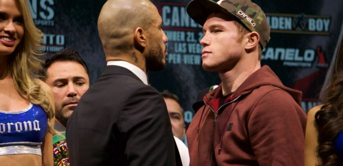 Cotto vs. Canelo Press Conference Photo By Victor Garcia, Real Combat Media