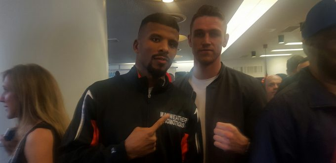REAL COMBAT MEDIA UK:  CALLUM SMITH IN WASHINGTON TO STALK SUPER-MIDDLE CHAMPS.