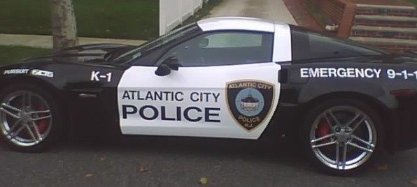 Atlantic City police car