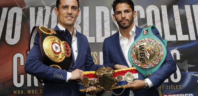 REAL COMBAT MEDIA UK: ANTHONY CROLLA: JORGE LINARES FIGHT STARTS MY LEGACY