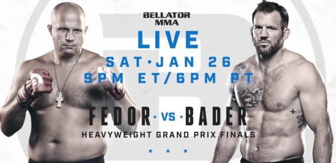 Fedor vs. Bader