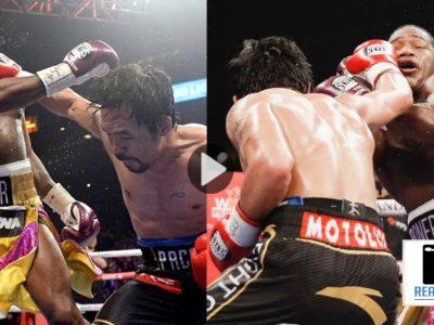 Manny Pacquiao Defeats Adrien Broner