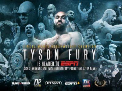 Tyson Fury Joins ESPN