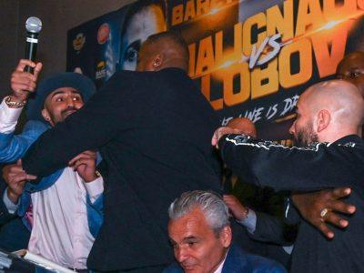 BARE KNUCKLE FIGHTING CHAMPIONSHIP PAULIE MALIGNAGGI VS. ARTEM LOBOV NEW YORK PRESS CONFERENCE