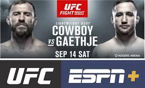UFC Fight Night Vancouver