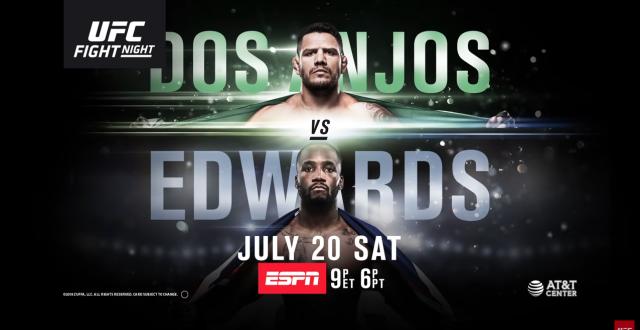 UFC ESPN 4 weigh-in