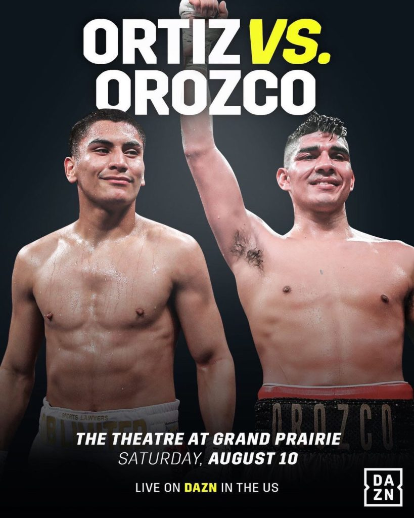 Vergil Ortiz Jr  vs  Antonio Orozco DAZN Weigh-in Video