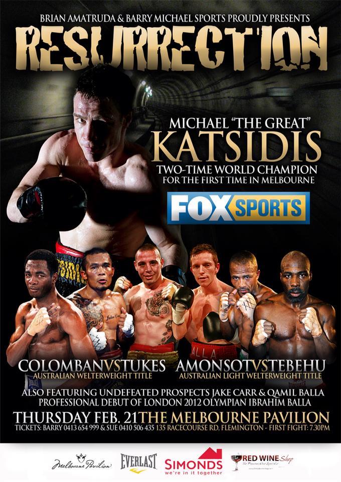"RCMGreece Boxing/MMA: Mike Katsidis ""The Great"" Resurrection on Feb. 21st"