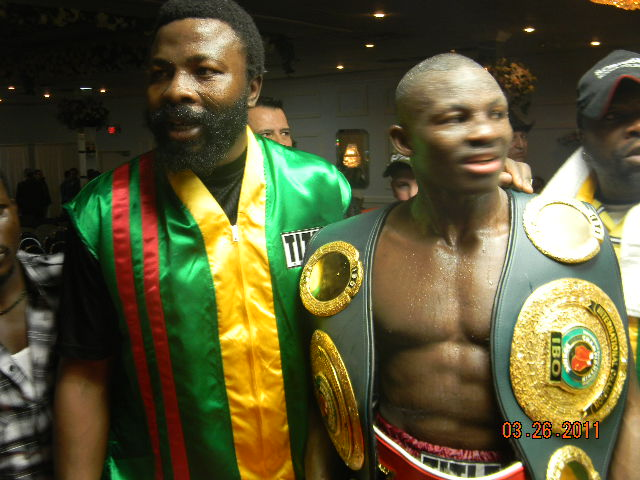 RCM Boxing Prospects:Awinongya Has Plans for 2008 Olympian Planje and Other Ghana Prospects