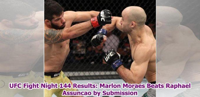 UFC Fight Night 144 Results