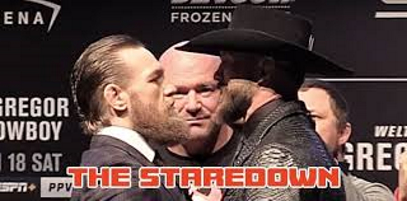 Ufc 246 Press Conference Conor Mcgregor Vs Cowboy Cerrone