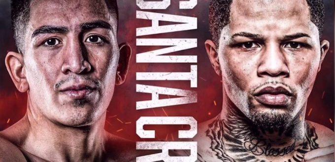 Leo Santa Cruz vs. Gervonta Davis