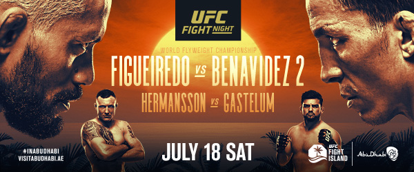 DEIVESON FIGUEIREDO AND (#2) JOSEPH BENAVIDEZ REMATCH FOR VACANT UFC FLYWEIGHT CHAMPIONSHIP ON UFC FIGHT ISLAND