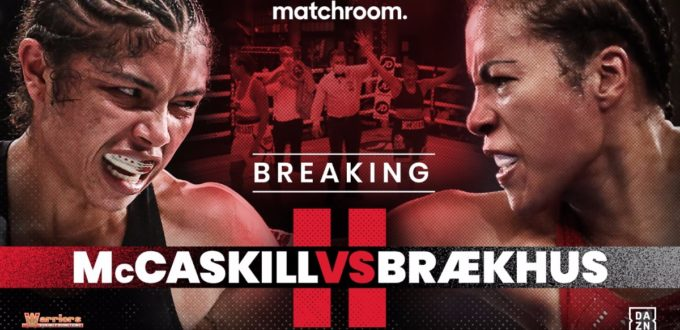 BRÆKHUS ACTIVATES MCCASKILL REMATCH CLAUSE