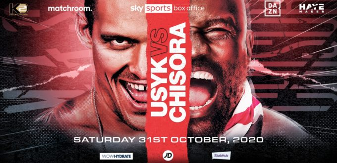 Usyk vs. Chisora is Official