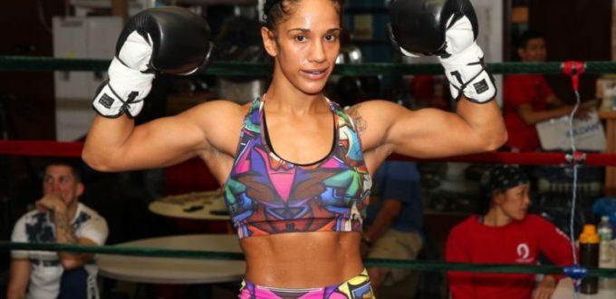 Amanda Serrano Stops Santana