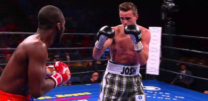 Josh Taylor Eye Injury
