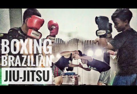 Boxers who train Jiu Jitsu