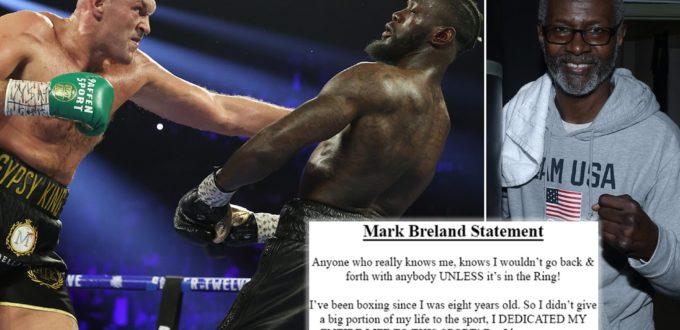 Mark Breland Statement