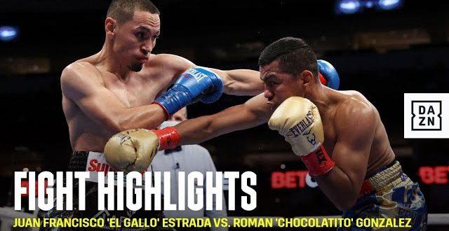 Estrada vs. Gonzalez Results