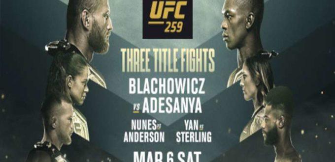 Order UFC 259