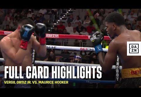 Ortiz Jr. Hooker Video Highlights
