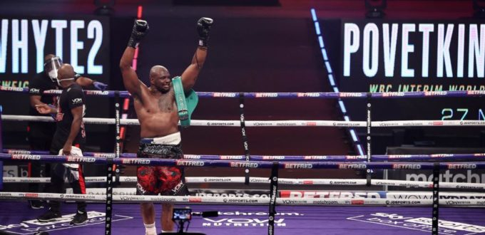 Whyte Stops Povetkin in Rematch